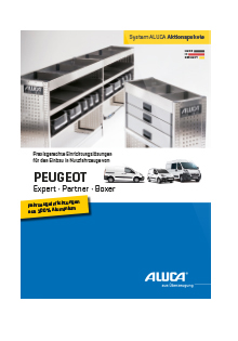 ALUCA Aktionspakete PEUGOT