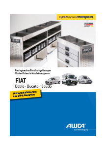 ALUCA Aktionspakete FIAT