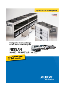 ALUCA Aktionspakete NISSAN